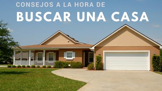 Consejos a la hora de buscar una casa