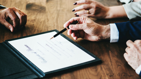Firma divorcio